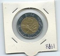 MN114  ITALIA 1998   L.500 Bicolore  IFAD - 1946-… : Repubblica