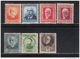 1931 - 1932     EDIFIL   Nº   655 / 661   / * / - 1931-50 Ungebraucht