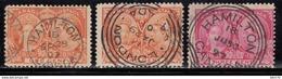 1897   YVERT Nº 39 , 41 - 1851-1902 Reinado De Victoria