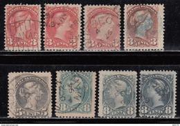 1870 - 1893  YVERT Nº 30 , 31 , 33 - 1851-1902 Reinado De Victoria