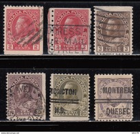 1903 - 1916 VARIOS SELLOS , - 1911-1935 Reinado De George V
