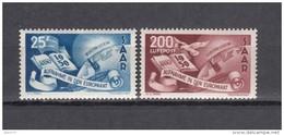 1950    MICHEL  Nº  297 / 298   / ** / - 1947-56 Ocupación Aliada