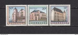 1992   YVERT  Nº 1270 / 1272    / ** / - Luxemburgo