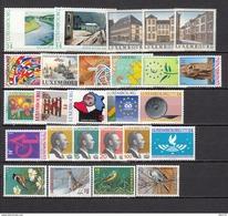 1994   VARIOS  SELLOS    / ** / - Luxemburgo