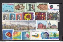1995   VARIOS  SELLOS    / ** / - Luxemburgo