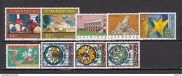 1992  VARIOS  SELLOS     / ** / - Luxemburgo