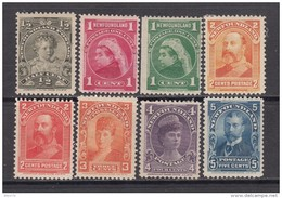 1897 - 1901   YVERT  Nº 63 / 70   / * / - Newfoundland