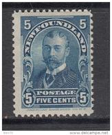1897 - 1901   YVERT  Nº  70    / * / - Newfoundland