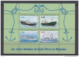 199  HOJITA BLOQUE  YVERT N  5    /  ** / - St.Pedro Y Miquelon