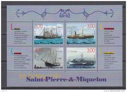 199  HOJITA BLOQUE  YVERT N  7    /  ** / - St.Pedro Y Miquelon