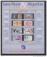199  HOJITA BLOQUE  YVERT N  6   /  ** / - St.Pedro Y Miquelon