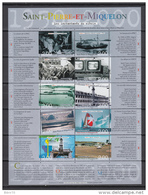 199  HOJITA BLOQUE  YVERT N  9   /  ** / - St.Pedro Y Miquelon