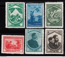 1932   YVERT Nº  440 / 445    MH - Nuovi