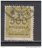 1923   MICHEL   Nº  324 A P  HT - Usados