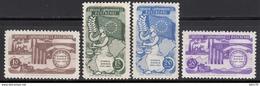 1954  MICHEL Nº 1391 / 1394   MNH - 1921-... República