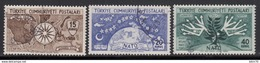 1954  MICHEL Nº 1388 / 1390 - Used Stamps