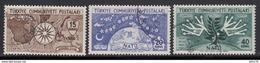 1954  MICHEL Nº 1388 / 1390 - 1921-... República