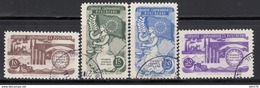 1954  MICHEL Nº 1391 / 1394 - Used Stamps