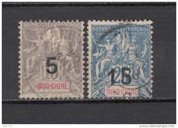 1908    YVERT  Nº  22 / 23 - Usati