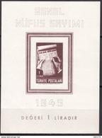 1945  MICHEL Nº BLOCK 3  MNH - 1921-... República