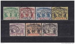 1906    YVERT  Nº   1 / 7 - Usados