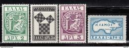 1955  MICHEL Nº 632 / 635   MNH - Nuevos