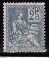 1900 - 1901  YVERT Nº 118  / * / - 1900-02 Mouchon