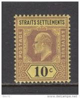 1902   YVERT  Nº  84     / * / - Straits Settlements