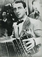 TANGO BANDONEONISTA ANSELMO AIETA CON BANDONEON, FUELLE. ARGENTINA CIRCA 1910's FOTO PHOTO - LILHU - Personalidades Famosas