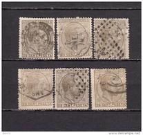 1878    EDIFIL  Nº 194 - 1875-1882 Koninkrijk: Alfonso XII
