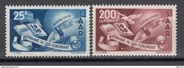 1950  MICHEL Nº 297 , 298  / ** / - 1947-56 Ocupación Aliada