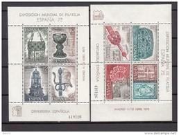 1975   EDIFIL  Nº 2252 / 2253    / ** / - 1931-Today: 2nd Rep - ... Juan Carlos I