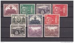 1931  EDIFIL  Nº  604 / 613     / * / - 1889-1931 Königreich: Alphonse XIII.