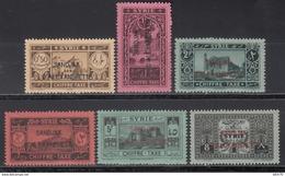 1938 Taxe. Yvert Nº 1 / 6   /**/ - Alexandretta (1938)