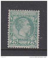 1885    YVERT  Nº 6    / * / - Monaco