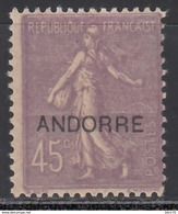 1938 Yvert Nº 14  /*/ - Andorre Français