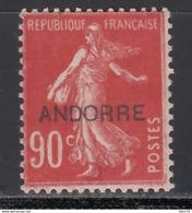 1938 Yvert Nº 12   /*/ - Französisch Andorra