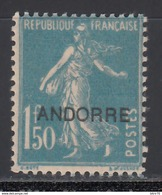 1938 Yvert Nº 13   /*/ - Andorre Français