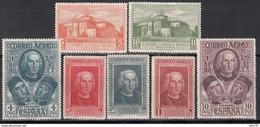 1930   Edifil Nº 559 / 565    /*/ - 1889-1931 Königreich: Alphonse XIII.