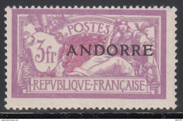 1938 Yvert Nº 20  /*/ - Französisch Andorra