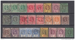1914 - 1931   VARIOS  SELLOS - Nigeria (...-1960)