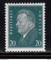 1928    Michel Nr  415  MNH , Geprüft Hans Dieter Schlegel. BPP - Alemania