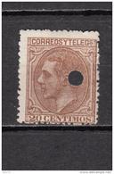 1879   EDIFIL  Nº 203 T - 1875-1882 Koninkrijk: Alfonso XII