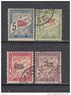 1901 - 07   VARIOS  SELLOS - Chine (1894-1922)