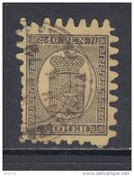 1866 - 70   YVERT  Nº 7 - Usados