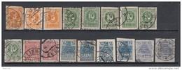 1919   MICHEL   Nº  6 / 8 , 9 / 11 - Estonia