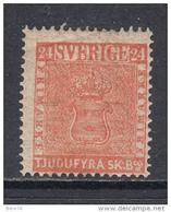 1855   YVERT  Nº 5   / * / - Suecia