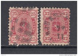 1875 - 81  YVERT  Nº  17a , 20 - Usados