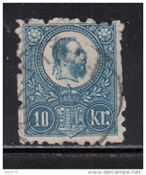 1871   YVERT   Nº  10 - Hungría