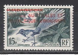 1955  Yvert Nº 1 /*/, - Tierras Australes Y Antárticas Francesas (TAAF)